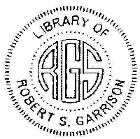 Library Embosser, Initial Style 3