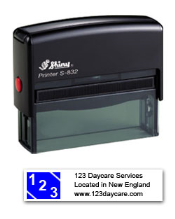 S-832 Two Color Stamp 7B