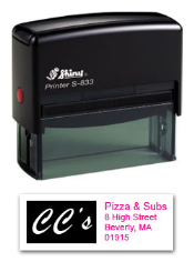S-833 Two Color Stamp 7D