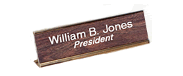 Wall and Desk Signs