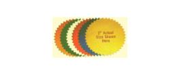 Colored Embosser/Seal Labels