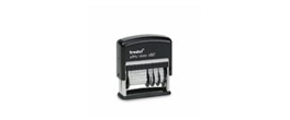 Trodat Date Stamps<br>Self-Inking and<br>Non-Self-Inking Line Daters & Die-Plate Date Stamps