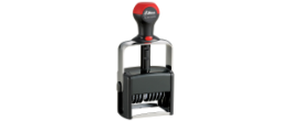 Shiny Heavy Duty Self-Inking Number Stamps