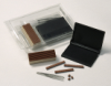 Ribtype Office Kits Include changeable characters, tweezers, stamp mount and black stamp pad. Additional stamp mounts are available in a variety of sizes.