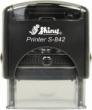 S-842A - Shiny 842A Self-Inking Address Stamp