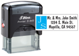 S-8237B - S-843 Two Color Stamp 7B