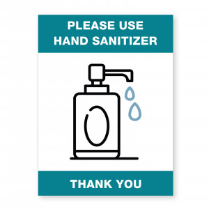 PMHANDSAN - SAFETY AWARENESS SIGN HAND SANITIZER