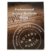 NRB-HC - Deluxe Professional Notary Records Book™ (Hard Cover)